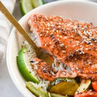 Maple dijon salmon with plated and for in salmon