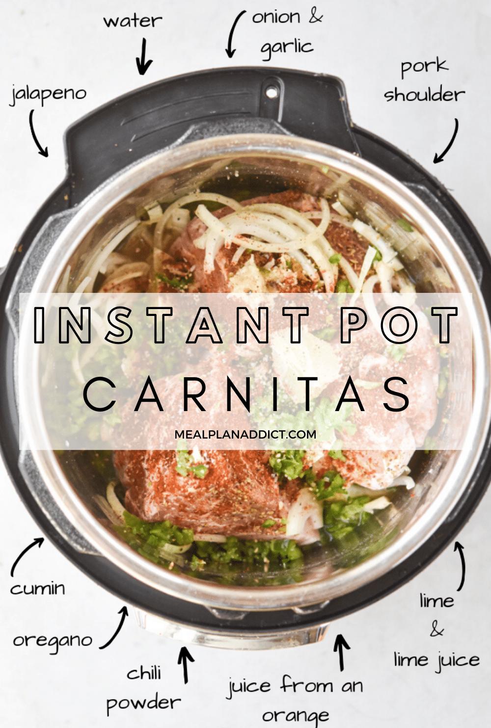 Carnitas pin for Pinterest