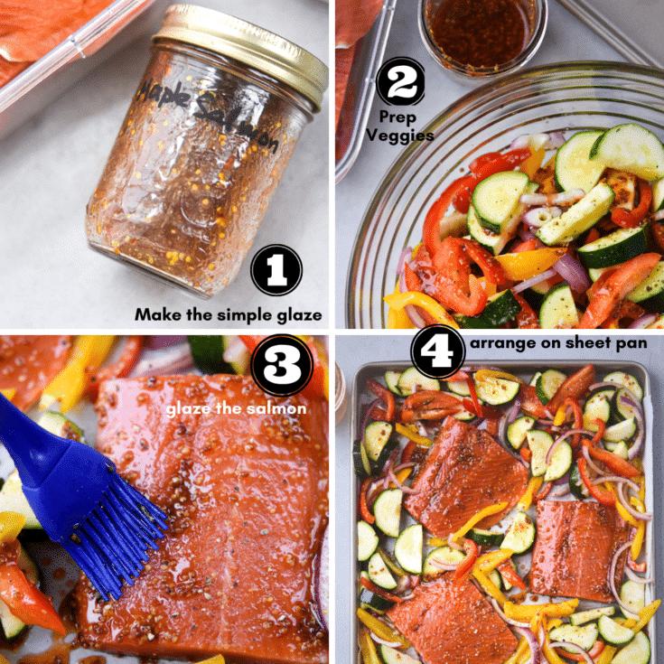 process to make maple salmon