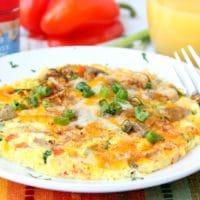 Easy Air Fryer Omelette
