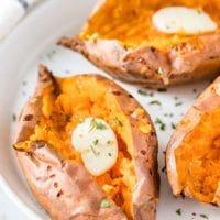 Air Fryer Sweet Potatoes {Baked it the Air Fryer}