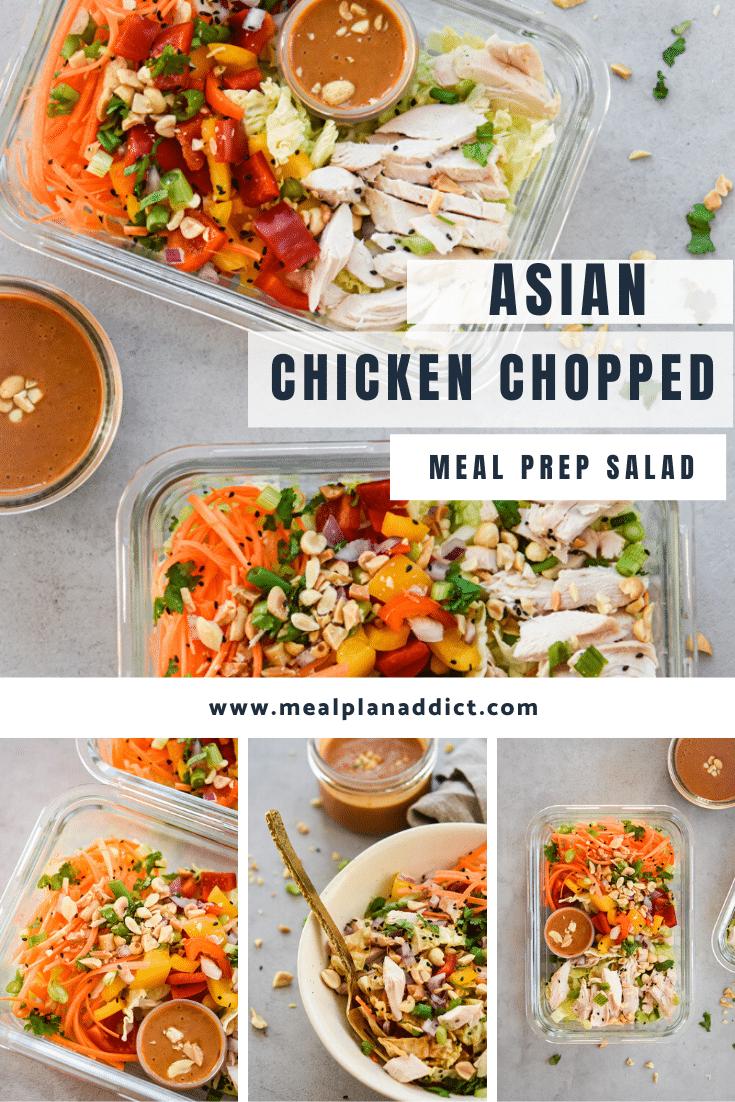 Asian chicken Chopped Salad