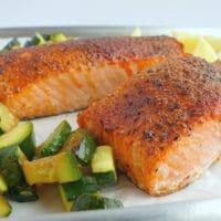 Perfect Air Fryer Salmon