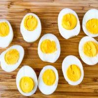 Easy Air Fryer Hard Boiled Eggs + {VIDEO}