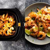 Honey Lime Air Fryer Shrimp