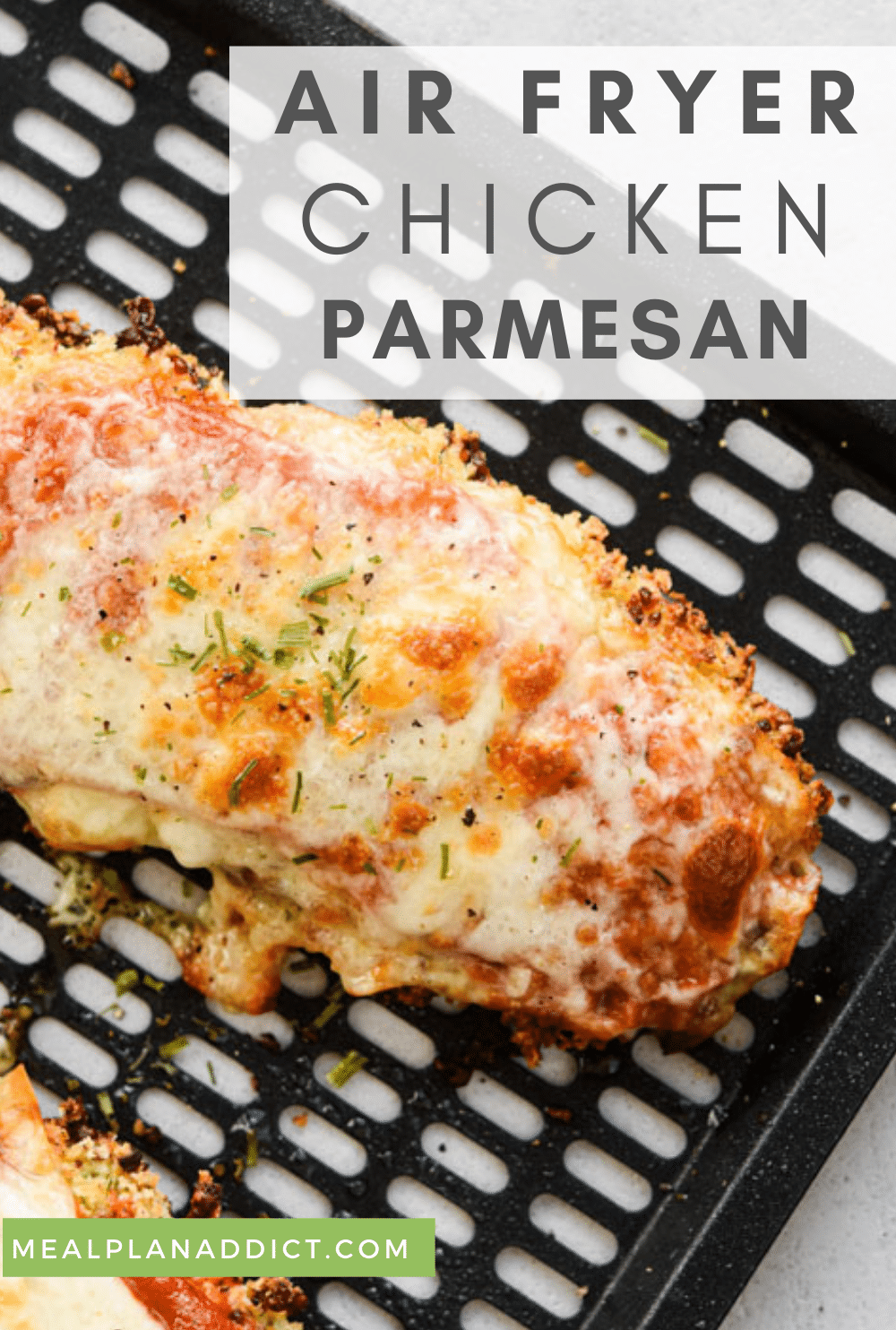 Chicken parm pin for Pinterest