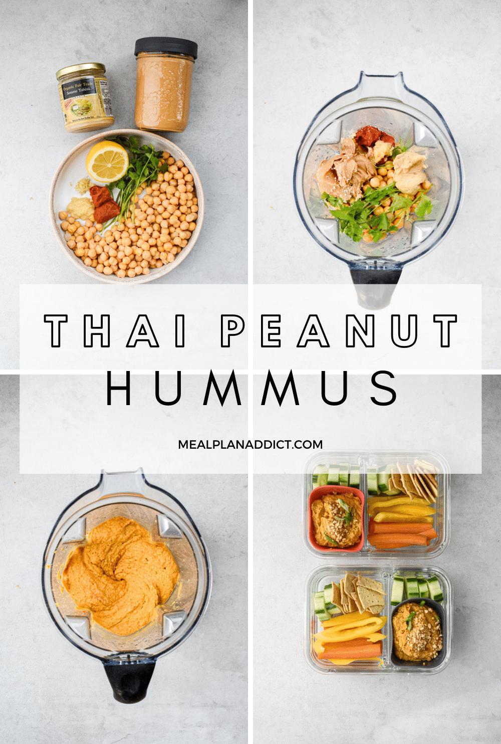 Hummus pin for Pinterest