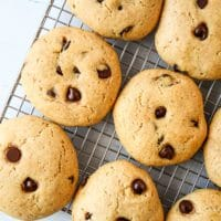 Chocolate Chip Pancake Mix Cookies