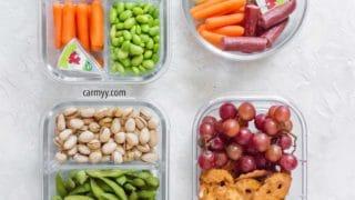 Easy Healthy Meal Prep Snack Ideas