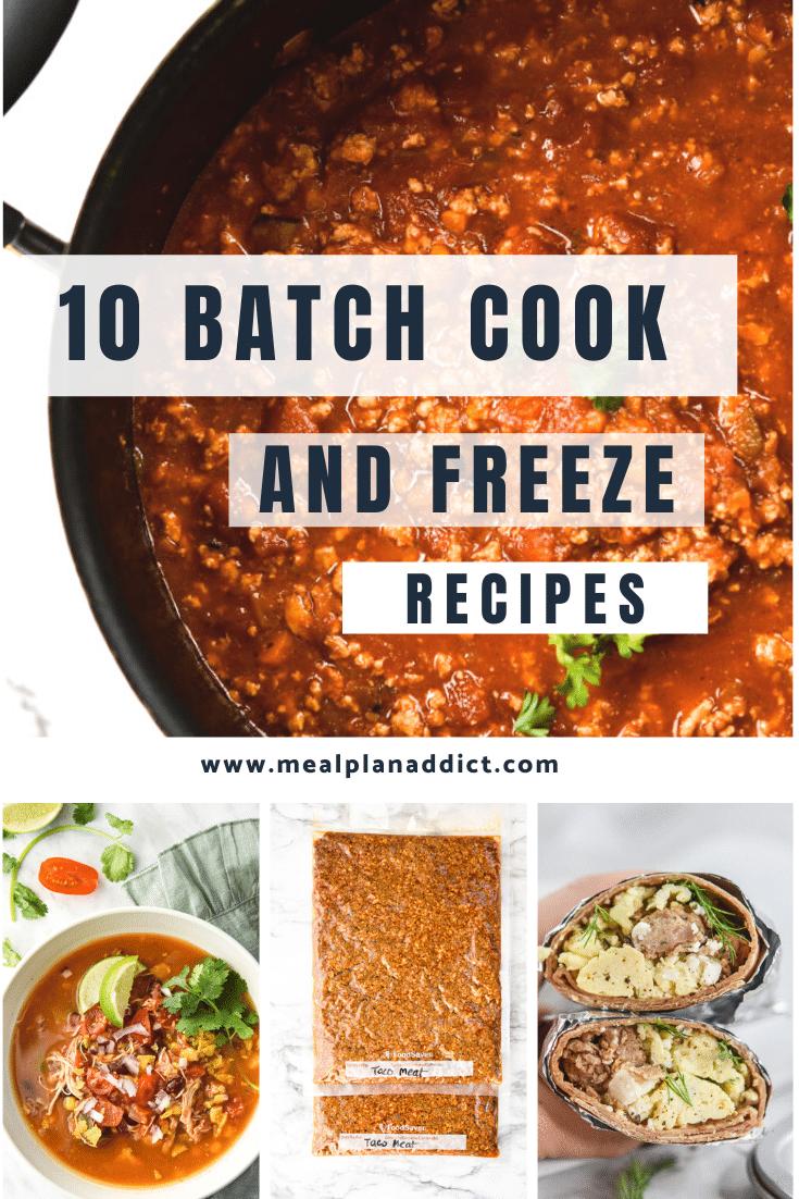 10 Best Batch Cook & Freeze Recipes