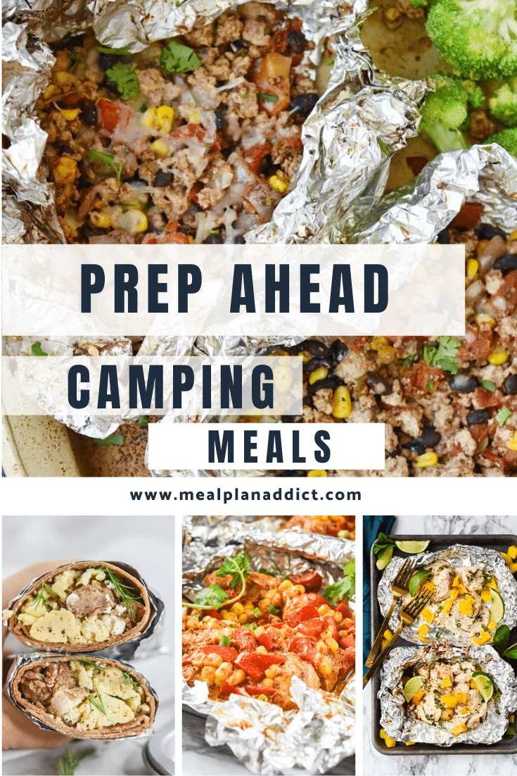 Prep Ahead Camping Meals