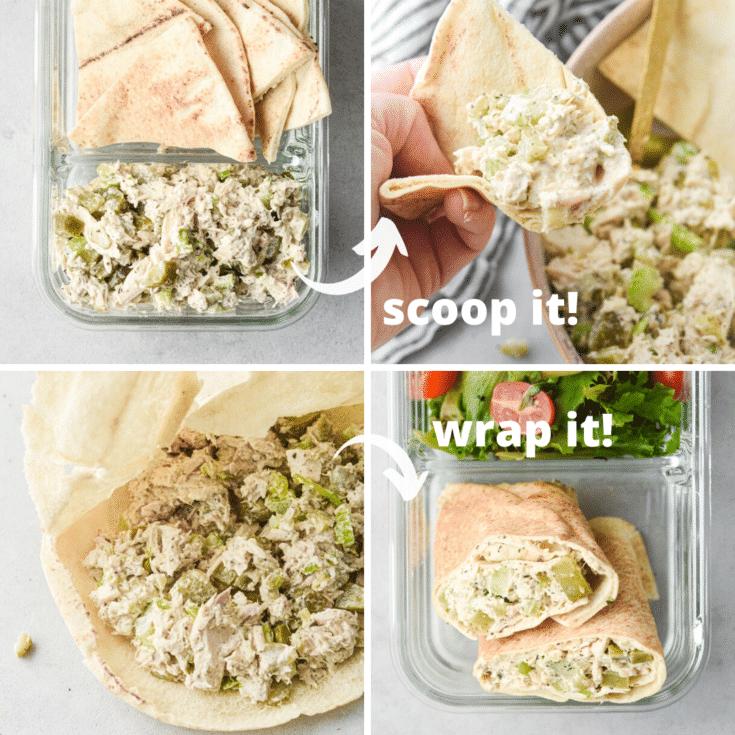 ways to meal prep tuna salad