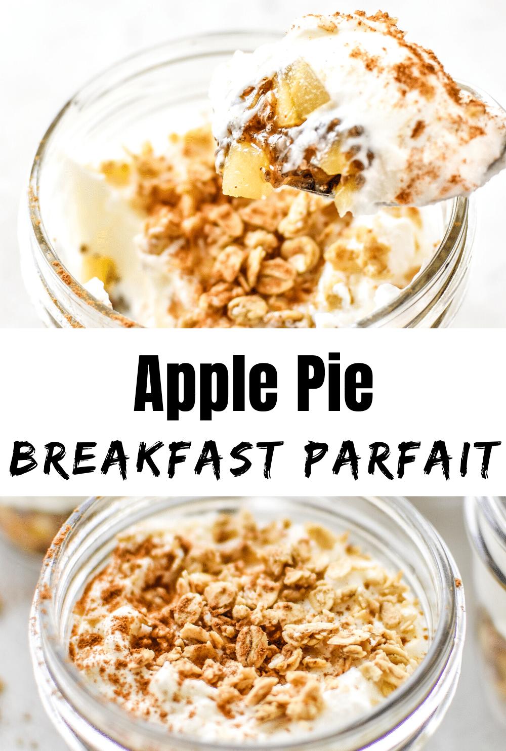 Apple Pie Breakfast Parfait