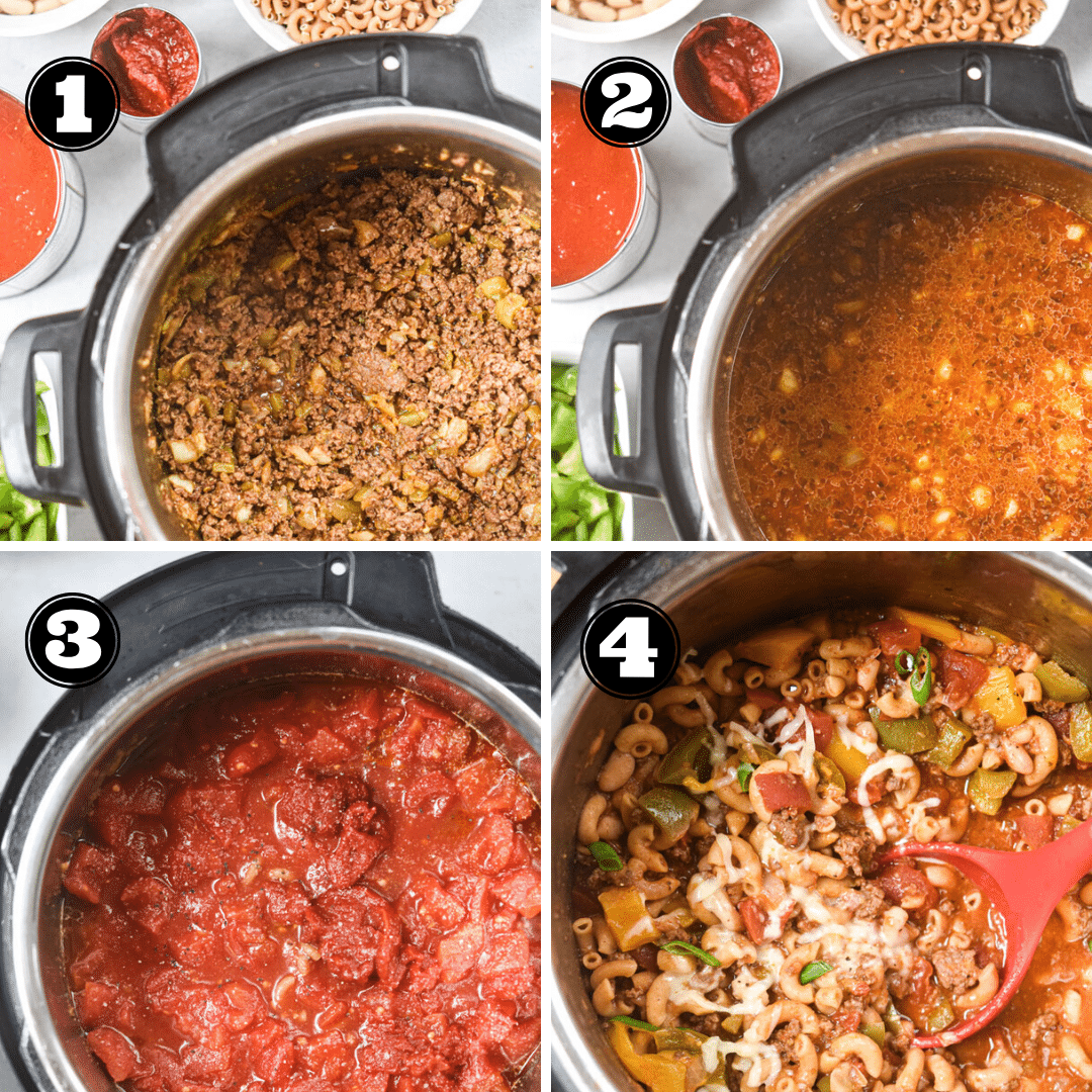 process for how to make chili mac