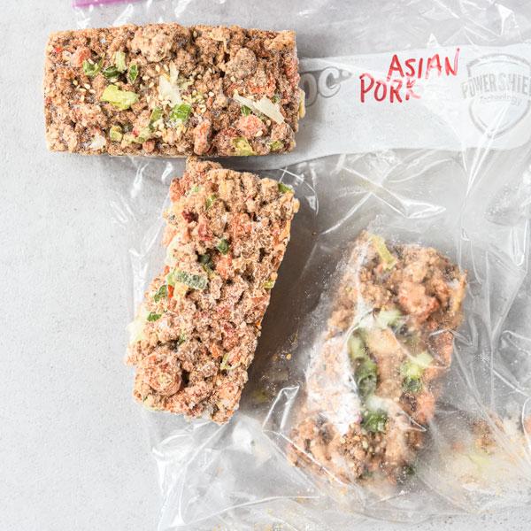 Lettuce-wrap-stuffing-frozen-in-cubes