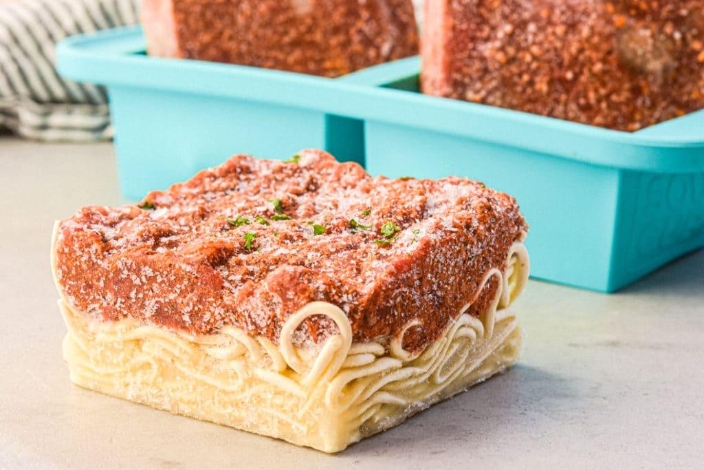 souper cube spaghetti