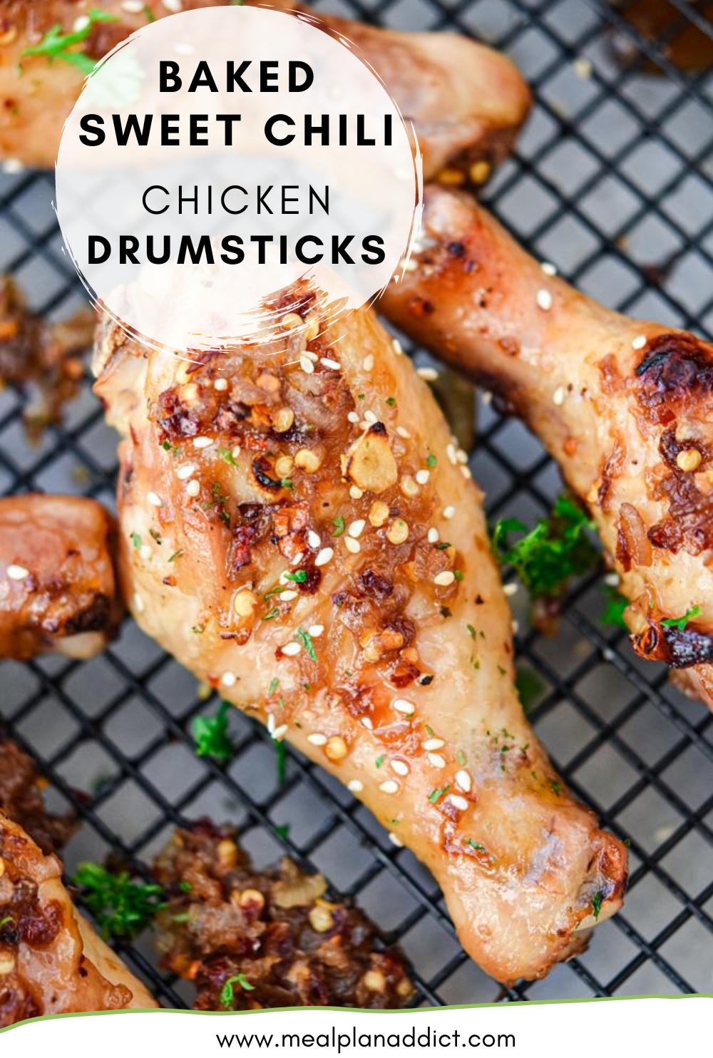 Baked Sweet Chili Chicken Drumsticks
