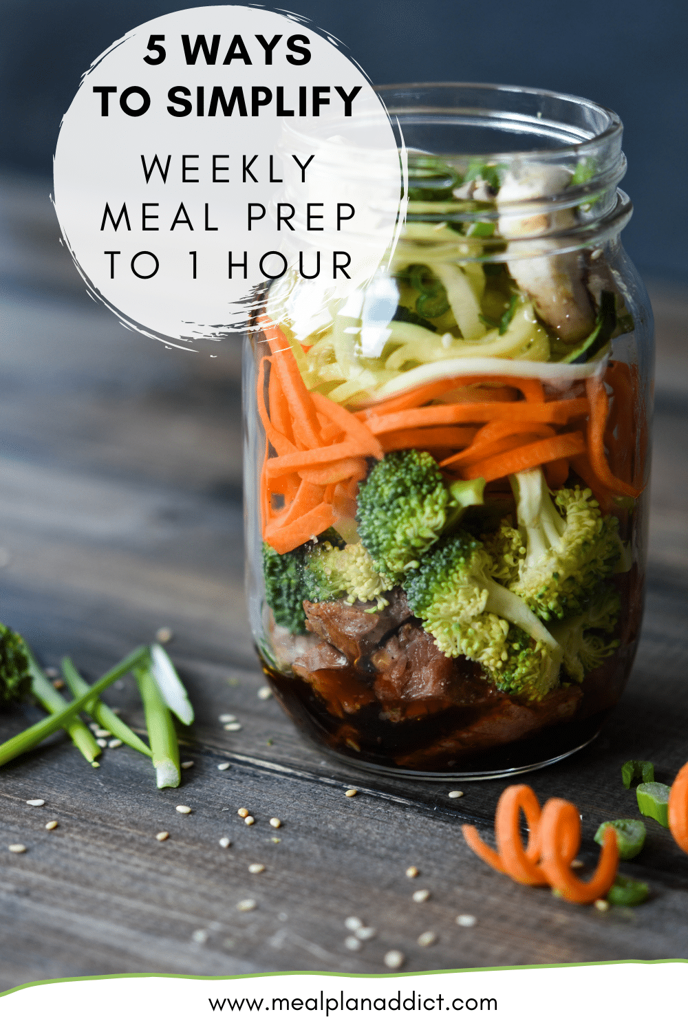5 Ways to Simplify Weekly Meal Prep to 1 Hour