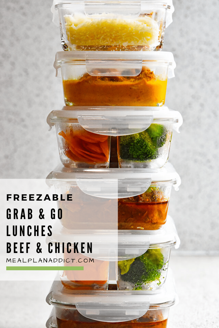 Freezable Grab & Go Lunches