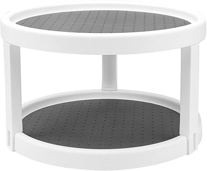 2 Tier Lazy Susan Turntable,  9.8-Inch