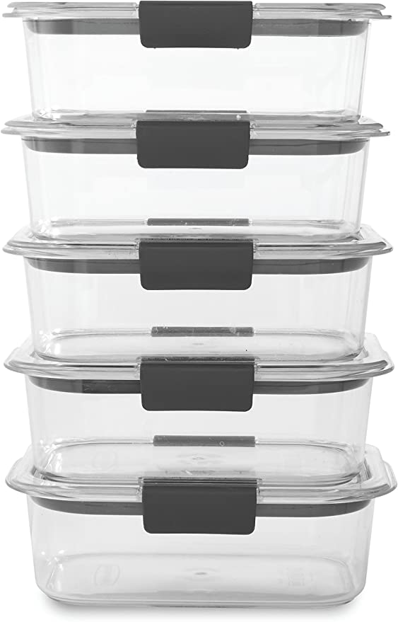 Rubbermaid Brilliance Containers, 3.2 Cup
