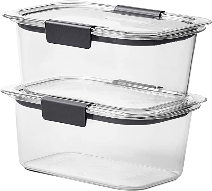 Rubbermaid Brilliance Containers, 4.7 cup