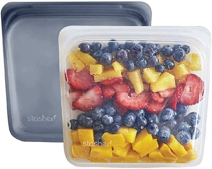 Stasher Sandwich Bag, 2 pack