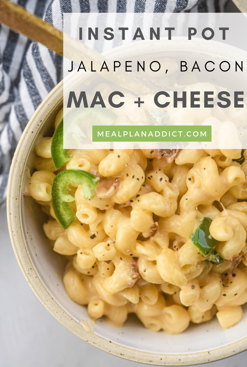 Mac and cheese pin for Pinterest