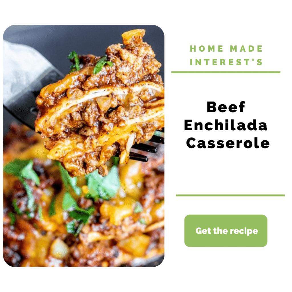 Ground Beef Dinner Ideas_enchilada casserole