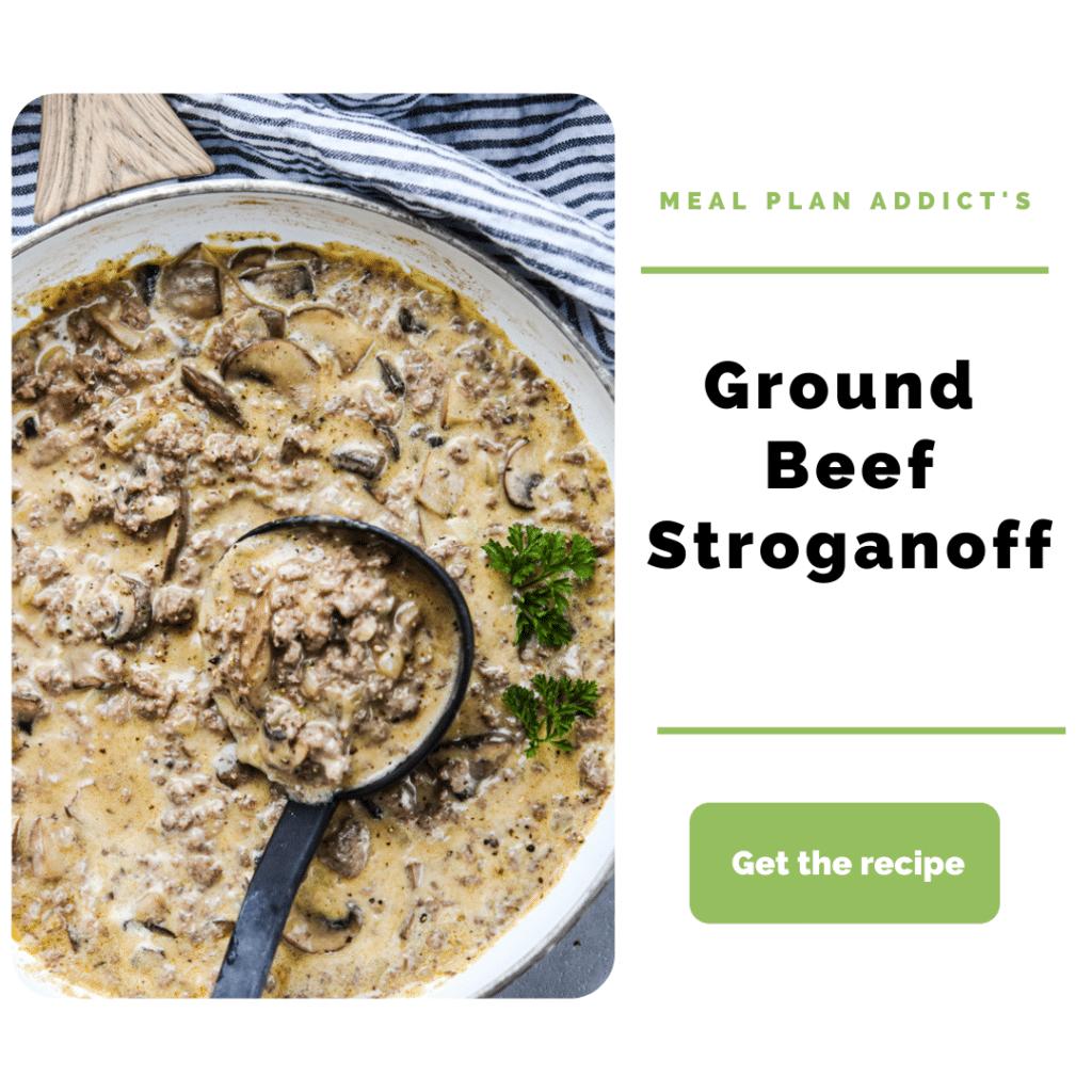 Ground Beef Dinner Ideas_stroganoff