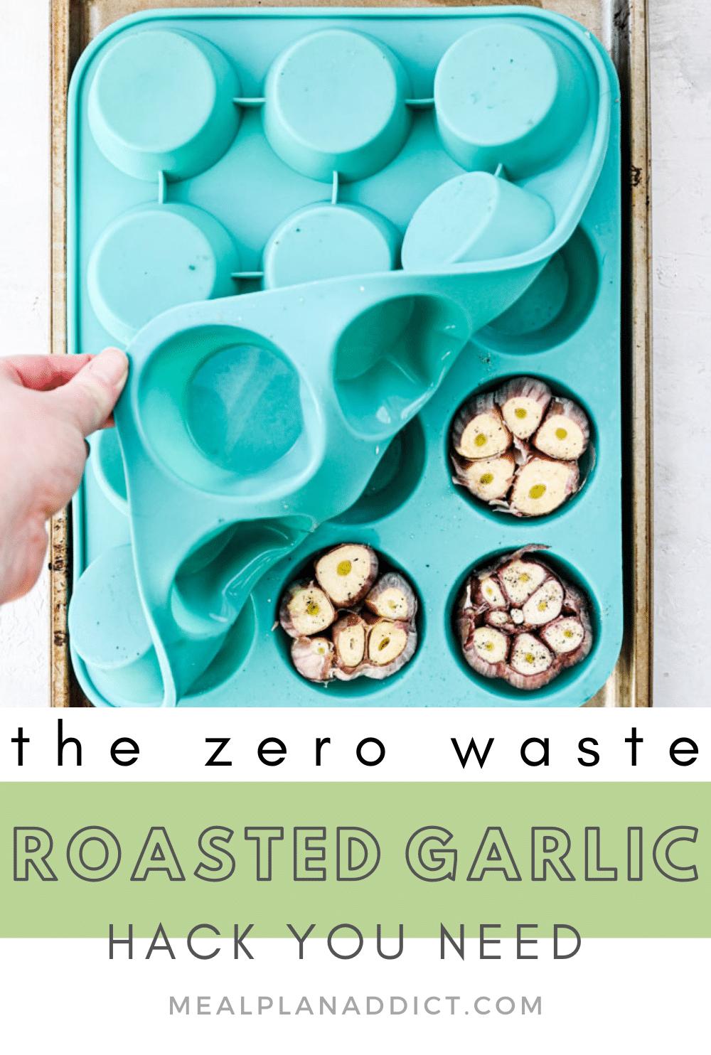 the zero waste garlic hack you need pin