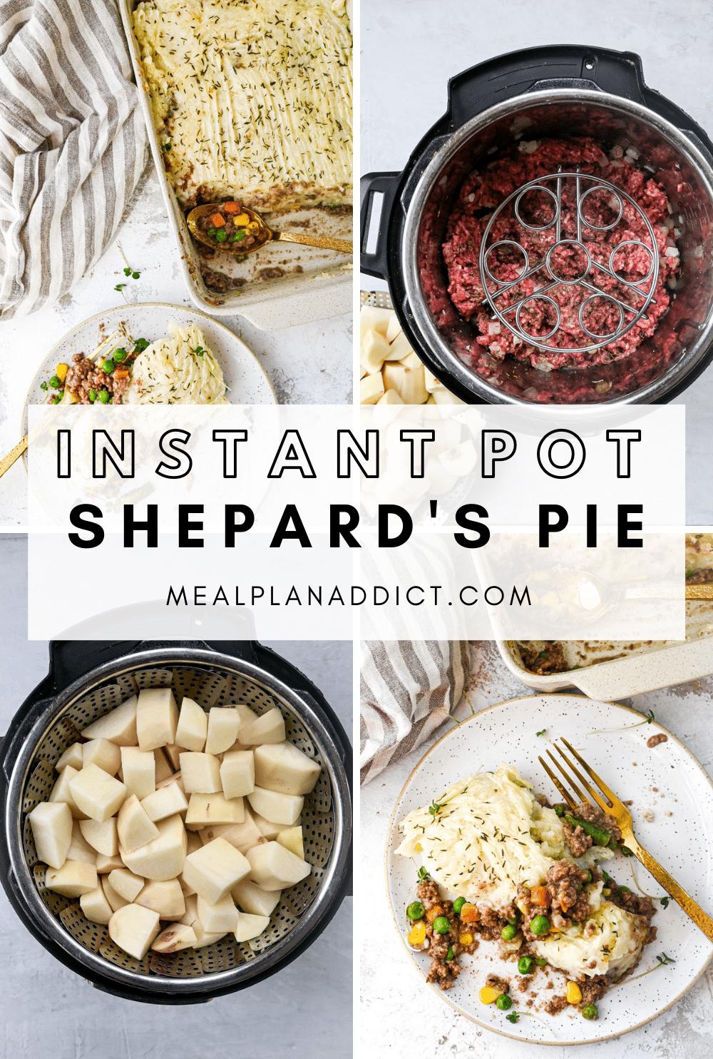 Instant Pot Lazy Shepard's Pie Pins