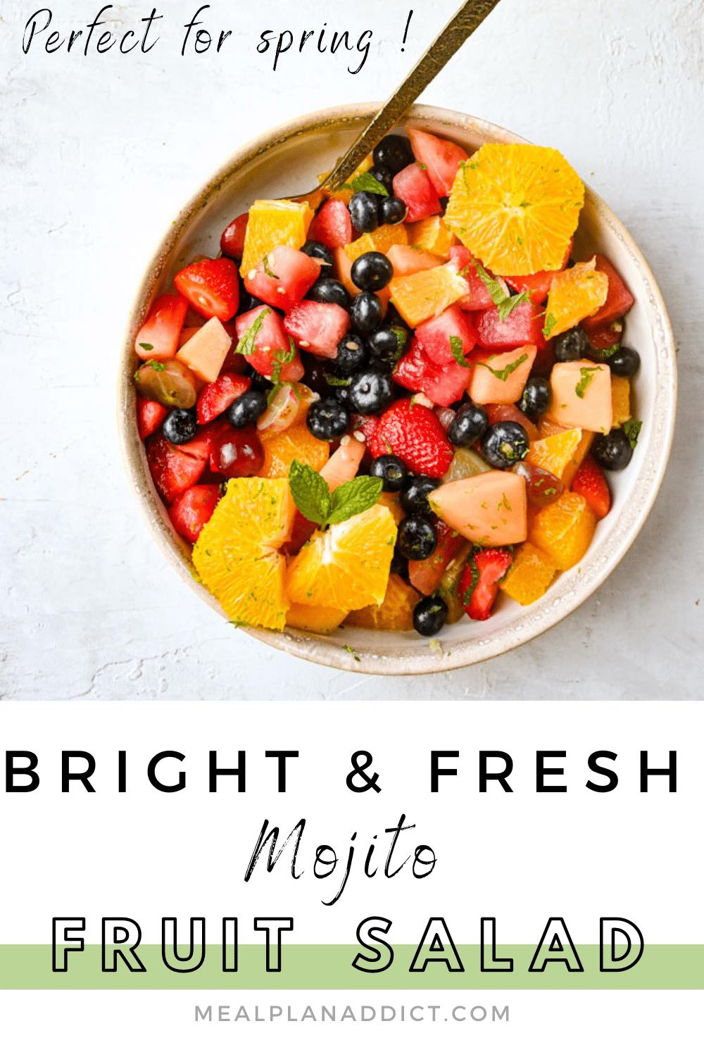 Mojito fruit salad pin2