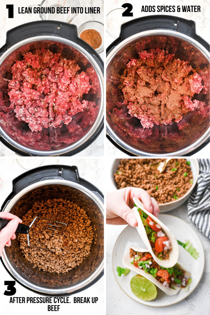 how to make instant pot taco beef