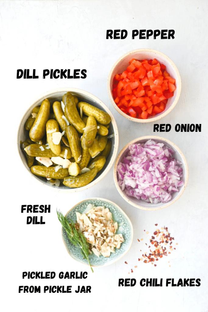 pickle salsa ingredients