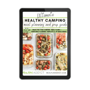 camping ebook cover on ipad