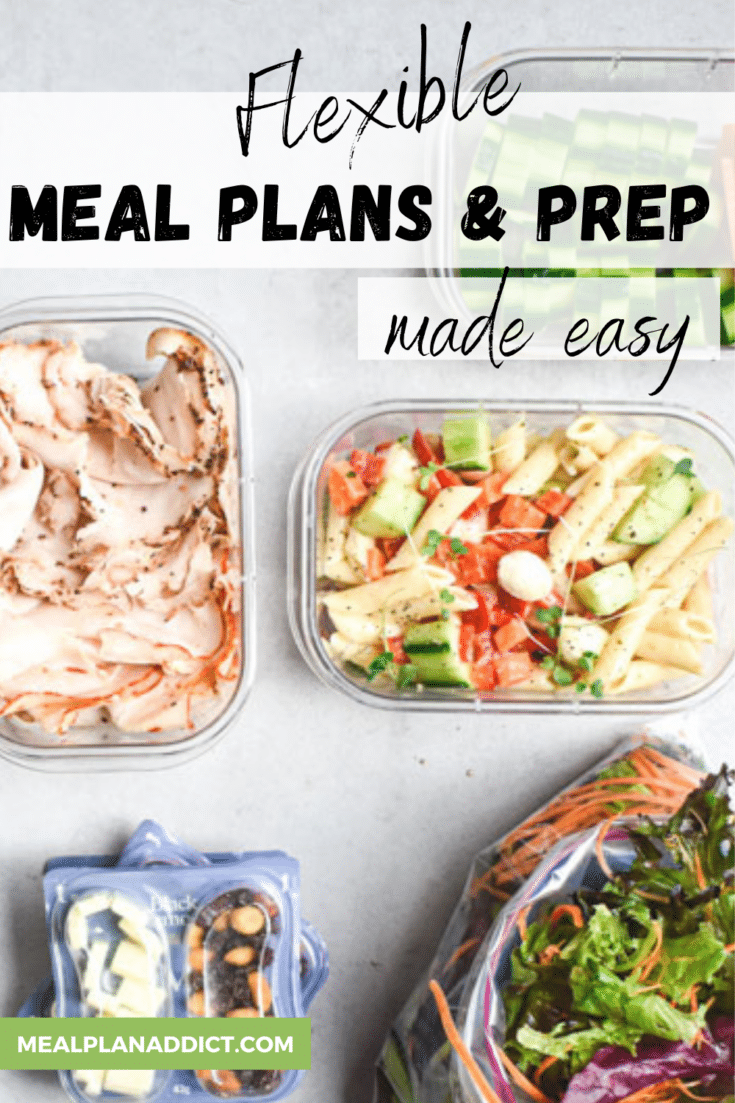 Flexible Meal Planning and Prep | Step by Step