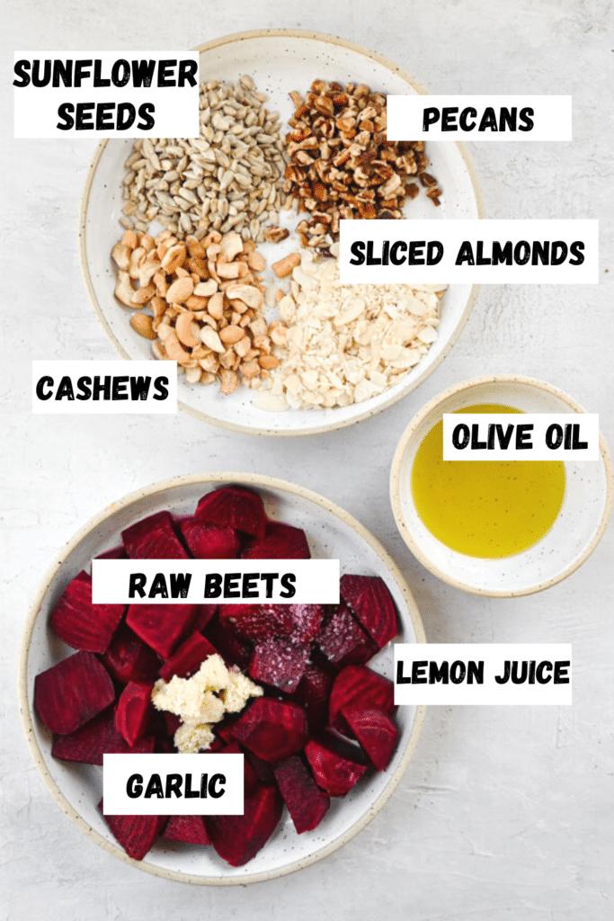 beet spread Ingredients